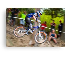 Downhill Mountain Biking - NZ Nationals Canvas Print