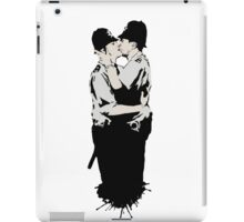 Kissing Coppers iPad Case/Skin