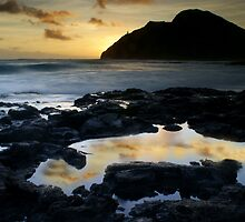 Morning tide pool reflection's by albrownphotos