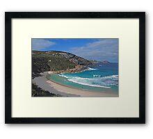 Salmon Holes, Tondirrup National Park, Western Australia Framed Print