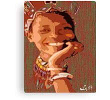 AFRO JOY Canvas Print