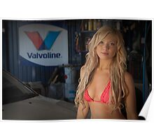 Garage Girl Poster