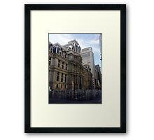 Dillworth Plaza Center City Philadelphia Framed Print