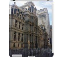 Dillworth Plaza Center City Philadelphia iPad Case/Skin