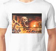Scrutton Street mural Unisex T-Shirt