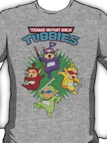 TEENAGE MUTANT NINJA TUBBIES T-Shirt