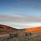 Ranch, Sunset, Telluride, Colorado by Mark Bergman