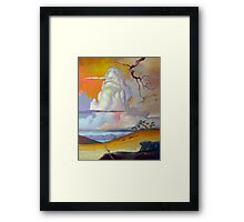 Cottonwood Clouds #3 Framed Print
