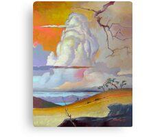 Cottonwood Clouds #3 Metal Print