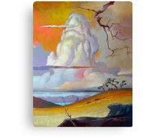 Cottonwood Clouds #3 Canvas Print