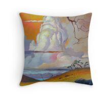 Cottonwood Clouds #3 Throw Pillow