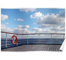 Deck View Poster