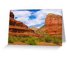 Red Mountains of Sedona Greeting Card