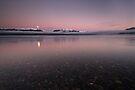 Lake Te Anau. by Michael Treloar