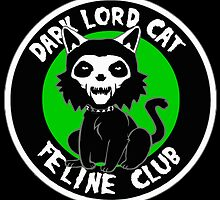 Dark Lord Cat Feline Club by darklordpug