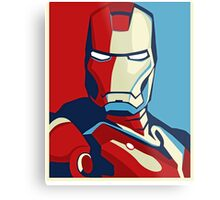 The Avengers - Vote for Iron Man (2) Metal Print