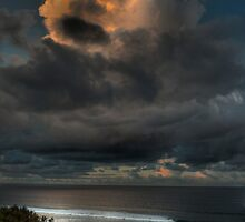 Storm Clouds over Anglesea by Emma  Smith