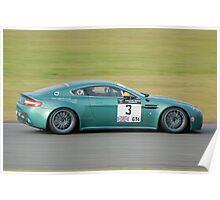 Aston Martin GT4 Poster