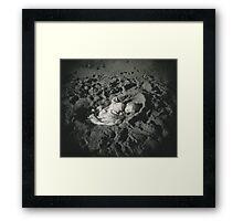 Sand Cradle Framed Print