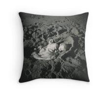Sand Cradle Throw Pillow