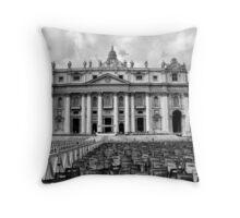 Basilica di San Pietro Throw Pillow