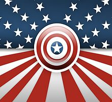 Captain America - Heroes Of U.S.A by Dnx-Drift