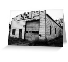 Expert Auto Body Greeting Card