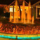 Fountain at Lake Havasu AZ by CDNPhoto