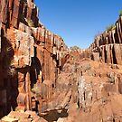 Dry Kolay Mirica Falls, Gawler Ranges NP by Blue Gum Pictures