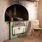 Interior of Old Paney Homestead, Gawler Ranges NP by Blue Gum Pictures