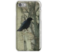 Crows At The Graveyard iPhone Case/Skin