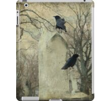 Crows At The Graveyard iPad Case/Skin