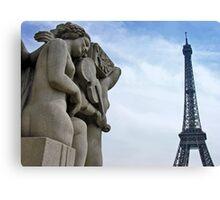 Une chanson pour Paris Canvas Print