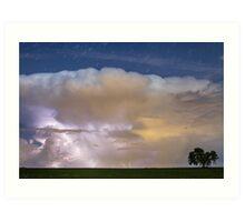 Thunderstorm Watching Art Print