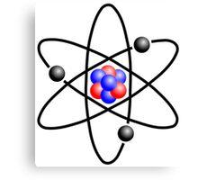 Lithium Atom Canvas Print