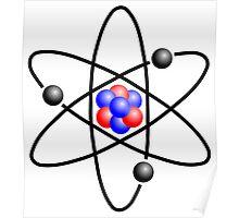 Lithium Atom Poster