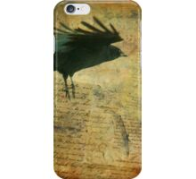 Vintage Crow iPhone Case/Skin
