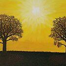Glowing Trees by Darla Gojcz