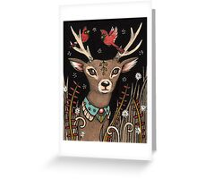 The Smallest Stag Greeting Card