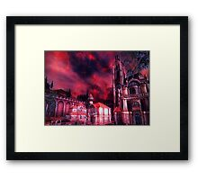 Oblivion Gate is Near! Framed Print