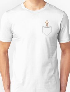 Pocket Giraffe Unisex T-Shirt
