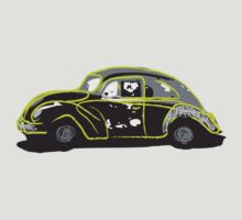 punch buggy green by spankdesign