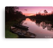 Ross Island Sunrise Canvas Print