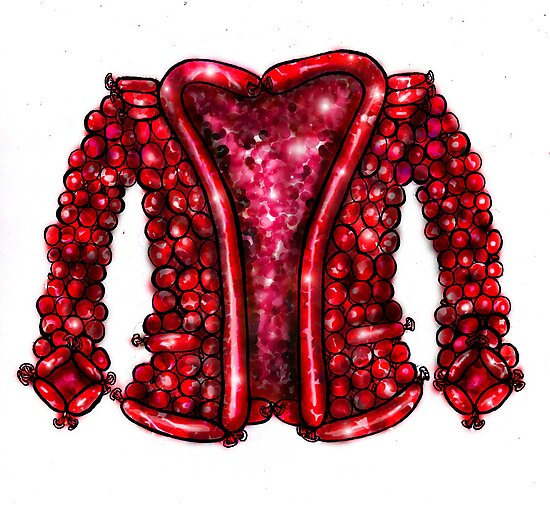 The Balloon Suited Man's Jacket by ellejayerose