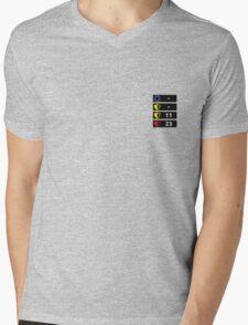 Reflex Item Timers Mens V-Neck T-Shirt