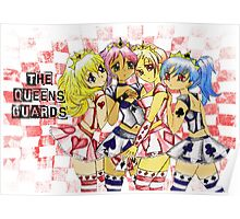 Anime Queen of Hearts  Loyal Card Guards Poster
