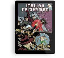 Italian Spiderman comic cover Metal Print