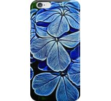 Painted Plumbago iPhone Case/Skin