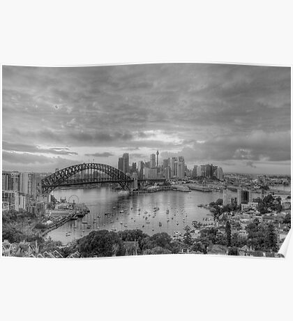 Oh What A Beautiful Morning (Monochrome) - The HDR Experience Poster