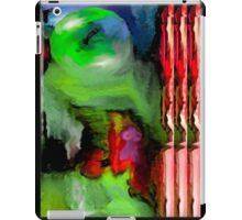 Evolution, page 14-15 from Everything IS, a visual and philosophical theory of everything iPad Case/Skin